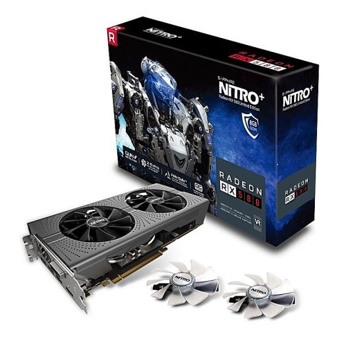 SAPPHIRE NITRO+ Radeon™ RX 580 8GD5 Limited Edition video card for mining.