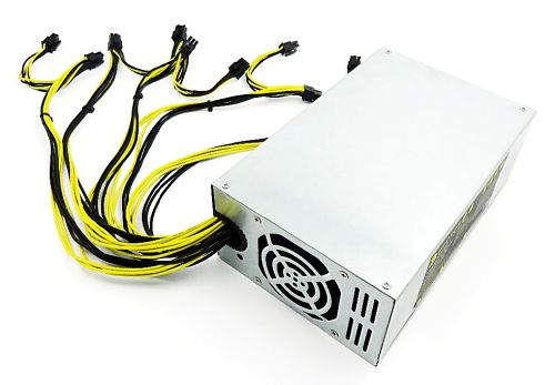Cai Niao Bite 1350W power supply unit (PSU) for ASIC miners, 1350W (6-pin * 10).