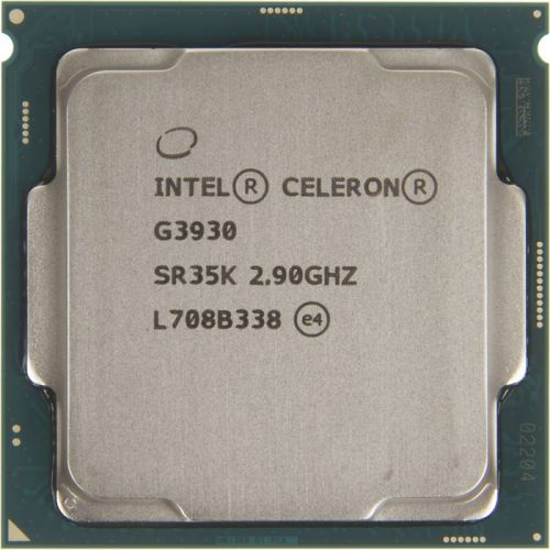 Processor Intel Celeron G3930.