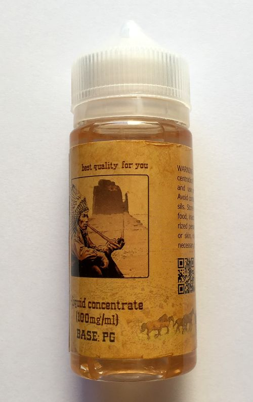 Nicotinic concentrate 100mg / ml (base VG(50%) + PG(50%)), 100 ml.