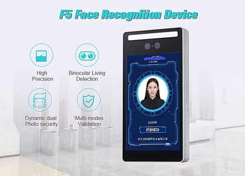F5-BG Binocular сamera face recognition terminal.