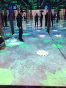AR interactive floor.