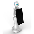 Intelligent humanoid business service robot SuanTou.